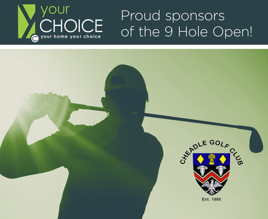 Cheadle Golf Club Sponsorship