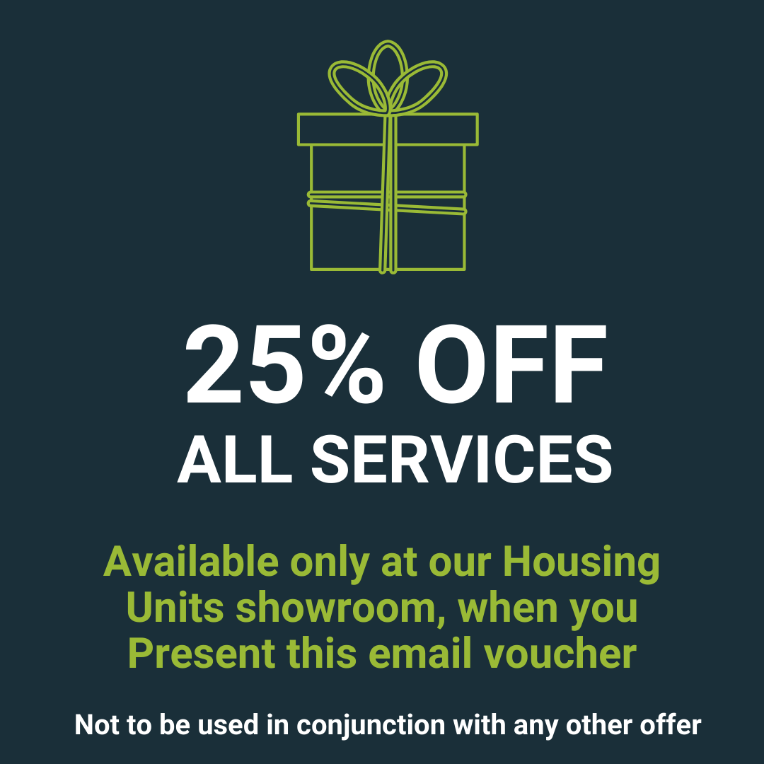 25% off all services