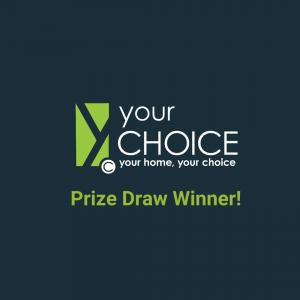 Prize Draw Winner