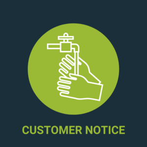 Customer notice Covid19