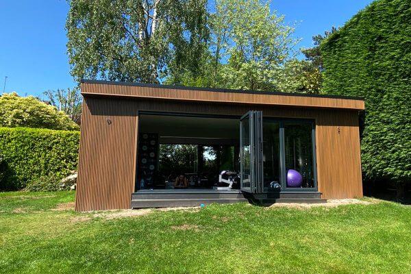 Garden room home gym