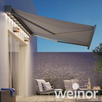 Wenior Kubata grey awning