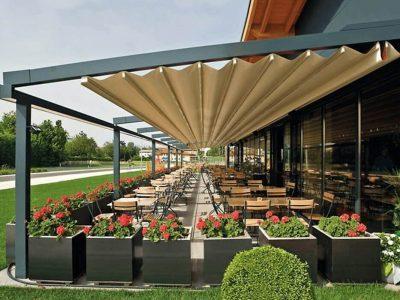 Weinor Pergotex Commercial Retractable Roof
