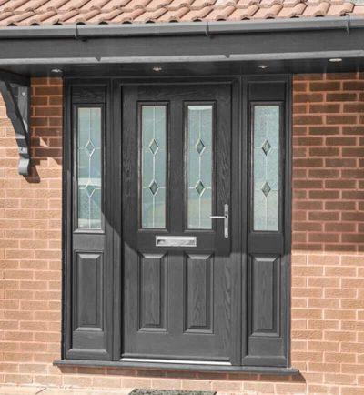 Recoloured Door After