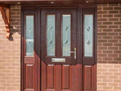 Recoloured Door Before